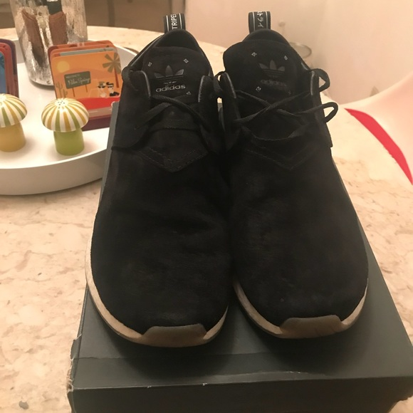 5a1c6e289 Adidas NMD C2 Black Suede sz 11. M 5b4642791b3294deeb1d765d. Other Shoes ...